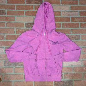 Pink VS purple zip up jacket